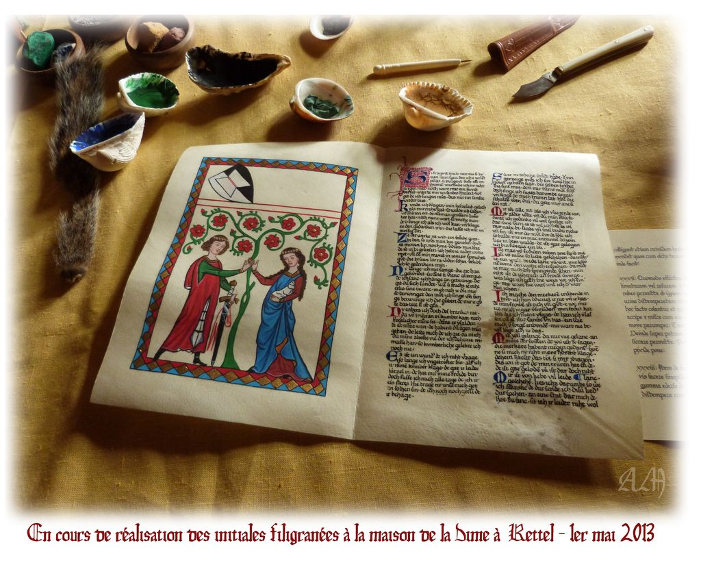 Le retour du codex Manesse....